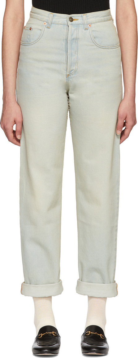 Gucci Blue Amour Jeans