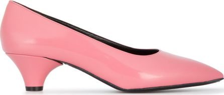 Marni 40 glossed leather pumps