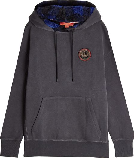 Hilfiger Collection Cotton Hoodie with Textured Lining
