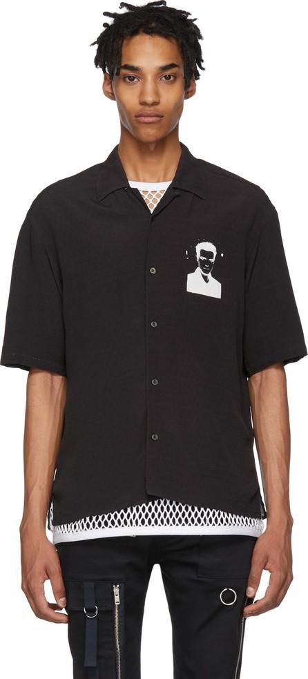 Undercover Black Bauhaus Graphic Shirt