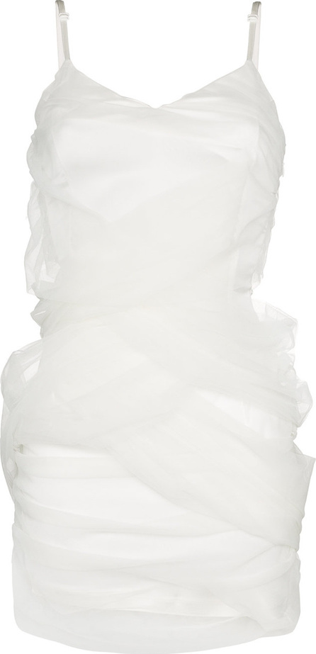 Y / Project Tulle wrapped slip dress