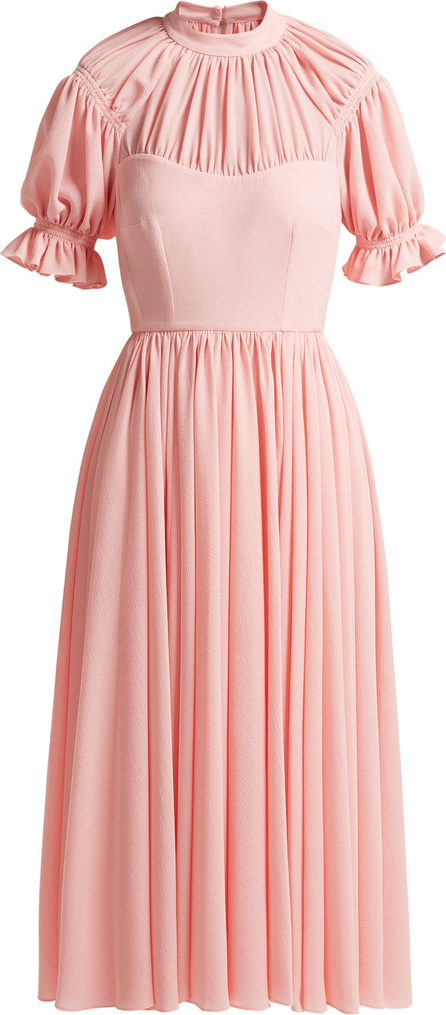 Emilia Wickstead Philly ruched crepe dress
