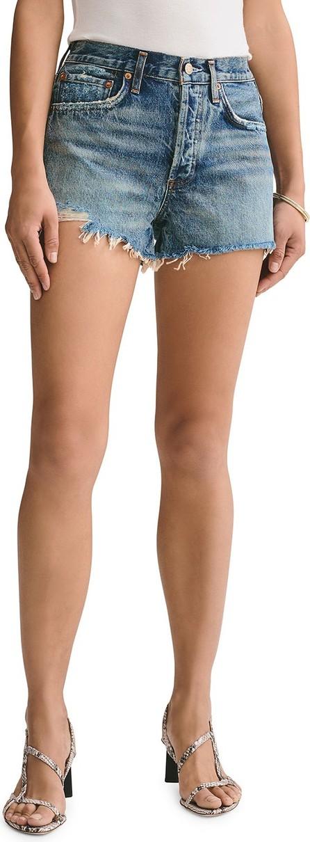 Agolde Parker Vintage Denim Cutoff Shorts