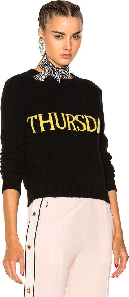 Alberta Ferretti Thursday Crewneck Sweater