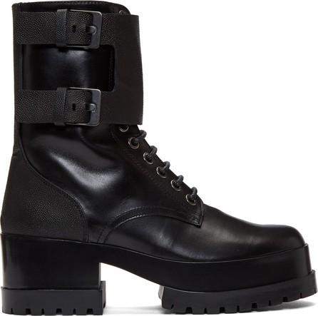 Robert Clergerie Black Willy Boots