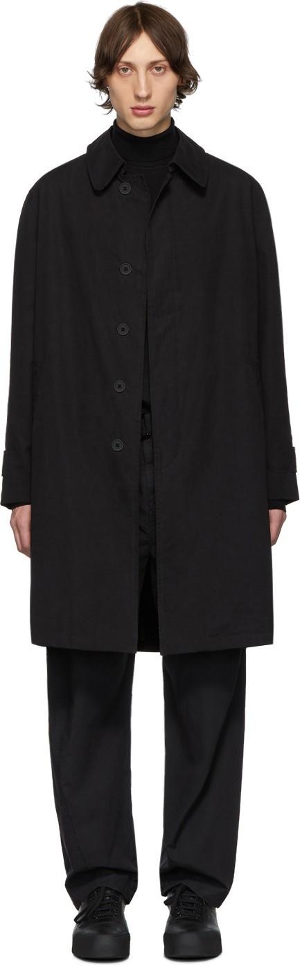 Schnayderman's Black Oversized Coat