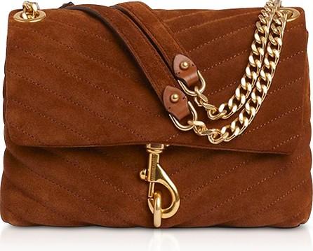 Rebecca Minkoff Edie Equestrian Suede Leather Crossbody Bag