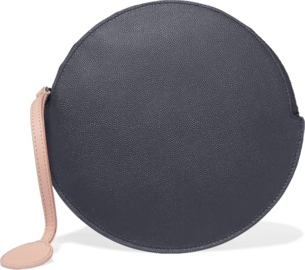 Roksanda Circle textured-leather pouch