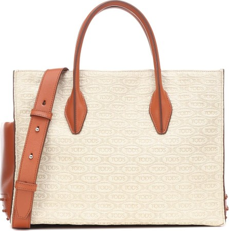 Tod's Exclusive to Mytheresa – leather-trimmed tote
