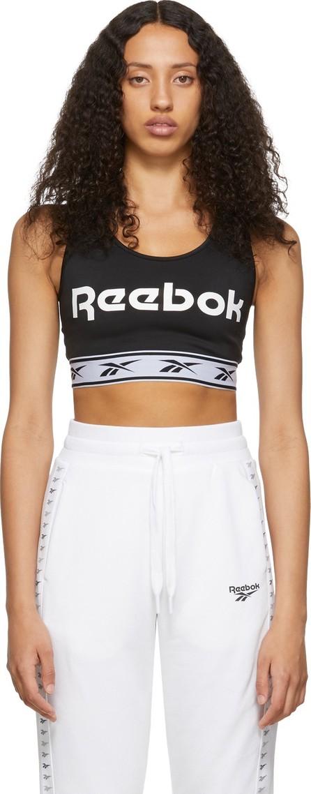 Reebok Black Vector Sports Bra