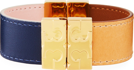 Tory Burch Colorblock Reversible Leather Bracelet