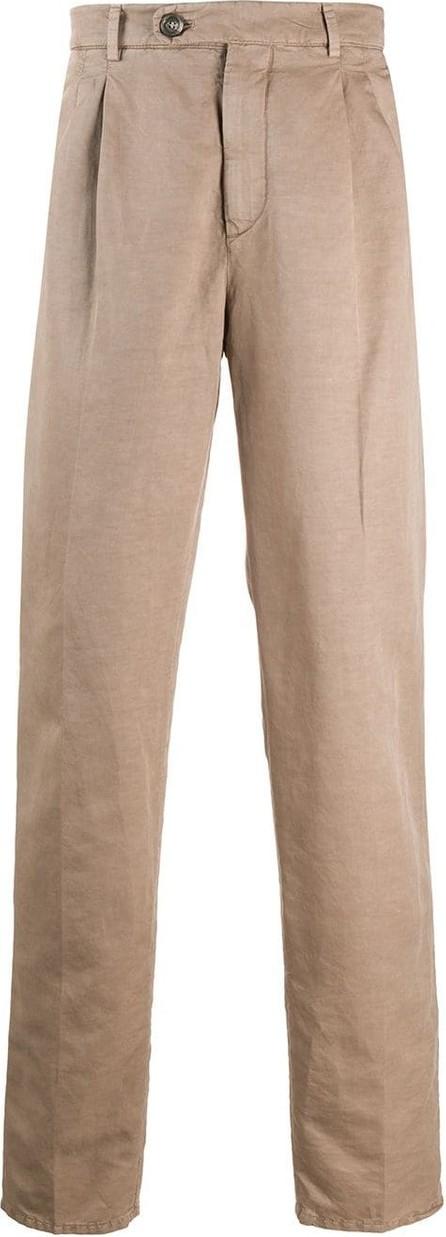 Brunello Cucinelli High-rise tailored trousers