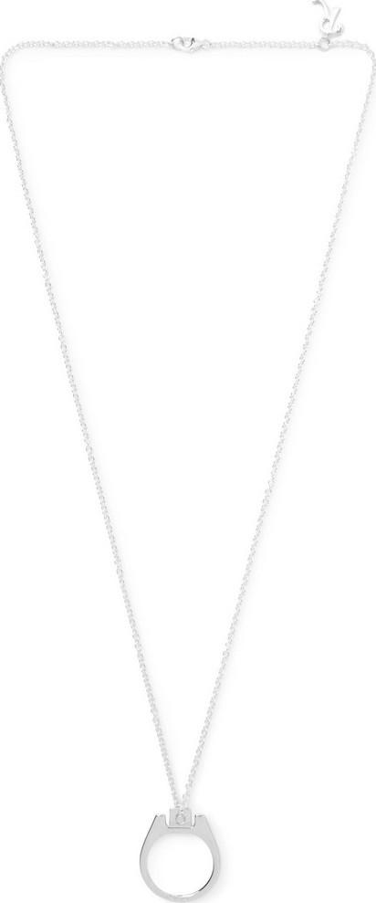 Raf Simons Silver-Tone Necklace