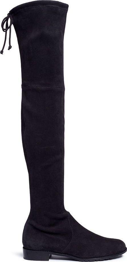 Stuart Weitzman 'Lowland' knee high stretch suede boots
