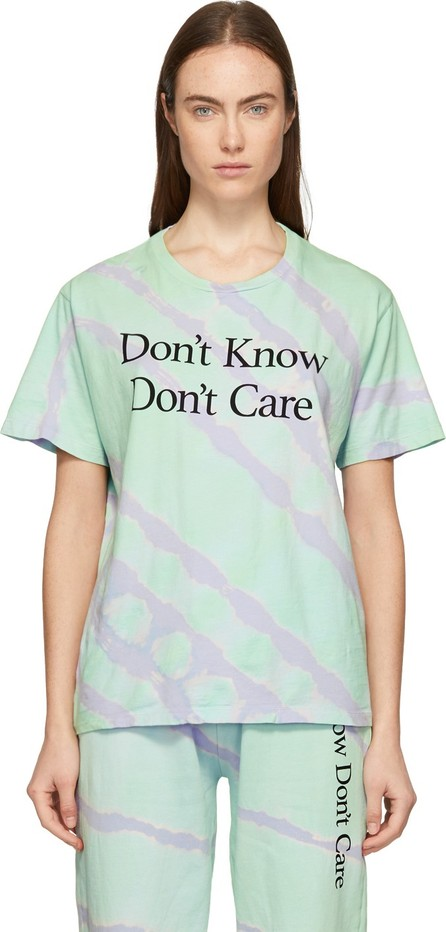 Ashley Williams Green Tie-Dye 'Don't Know' T-Shirt