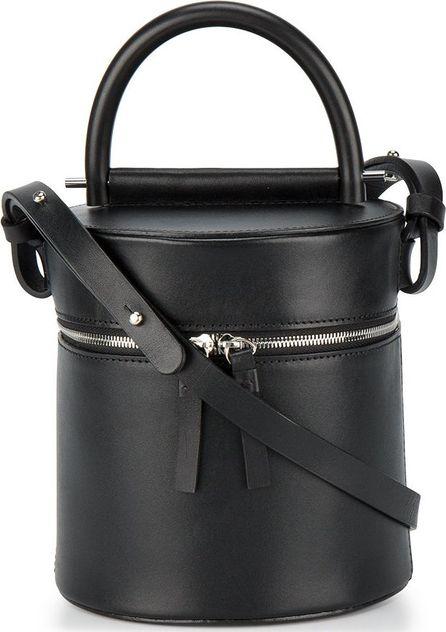 Building Block Drum cylinder shoulder bag