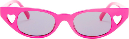 Le Specs The Heartbreaker cat-eye acetate sunglasses
