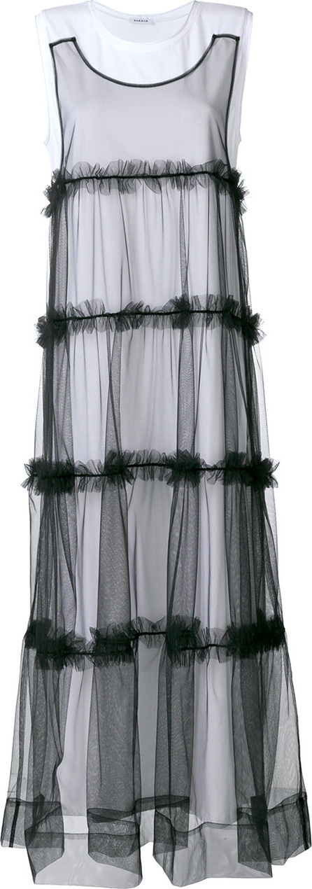P.A.R.O.S.H. Tulle layer dress