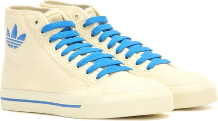 Adidas By Raf Simons Matrix Spirit High-top canvas sneakers