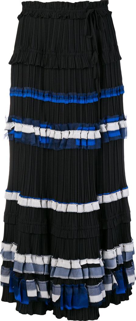3.1 Phillip Lim Striped full skirt