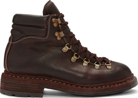 Guidi Burgundy Hiking Boots