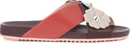 Fendi floral embellished sandals