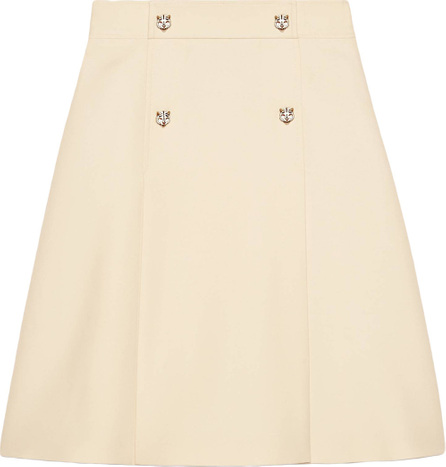 Gucci Wool silk A-line skirt