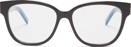 Saint Laurent Rectangle-frame acetate glasses