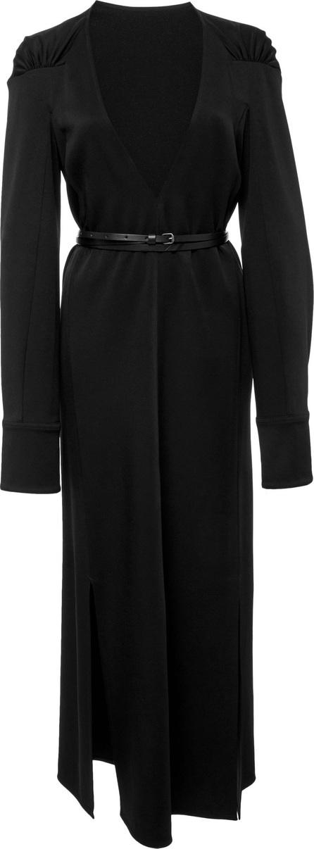 Victoria Beckham Satin Midi Dress