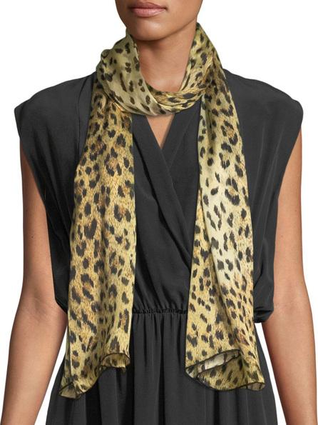 Valentino Wild Leopard Silk Stole