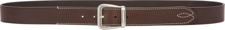 Maison Margiela Oversized Buckle Leather Belt