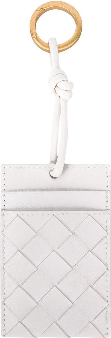 Bottega Veneta Intrecciato neck-strap cardholder