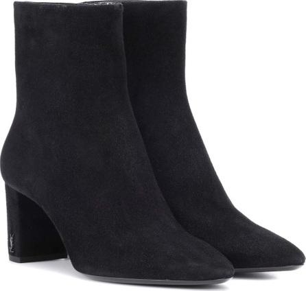 Saint Laurent Lou 70 suede ankle boots