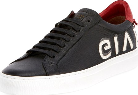 Givenchy Men's Urban Street Logo Letter Low-Top Sneakers