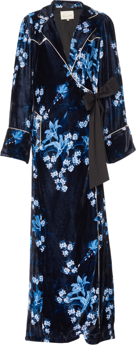 Johanna Ortiz Silk Velvet New Sunrise Robe