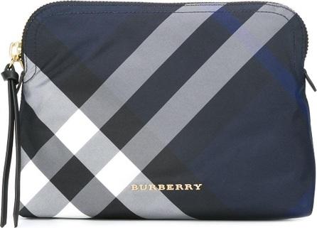 Burberry London England housecheck makeup bag