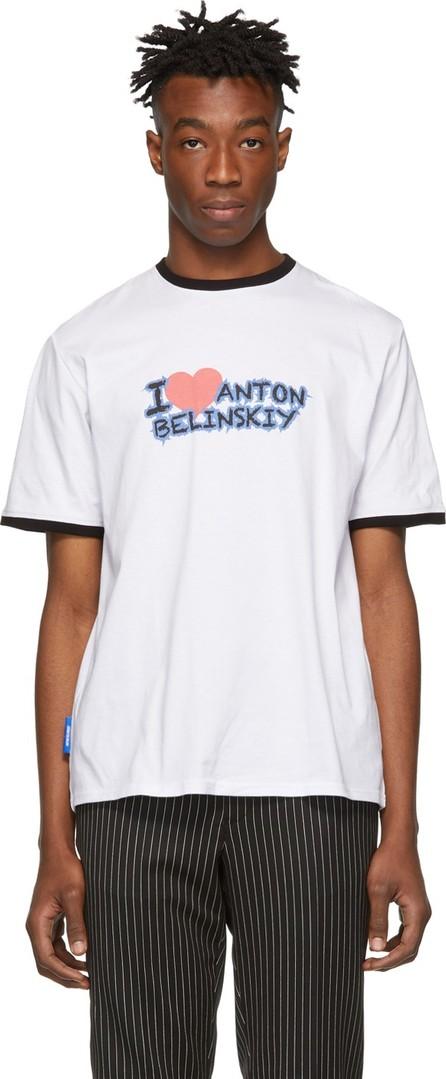 Anton Belinskiy White 'I Love Anton Belinsky' T-Shirt