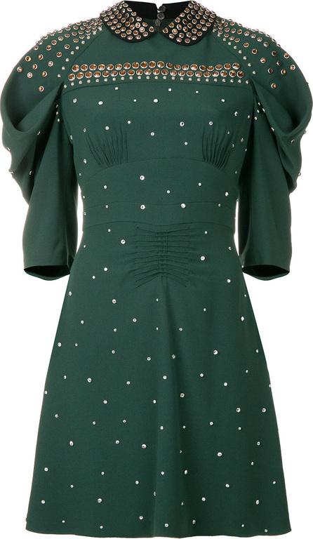 Miu Miu Studded eyelet dress