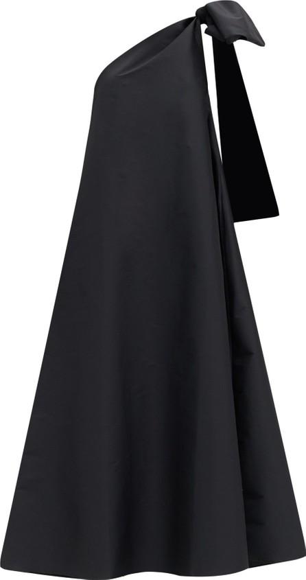BERNADETTE Winnie one-shoulder taffeta gown