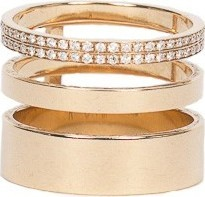 REPOSSI Gold Ring 3 Rows