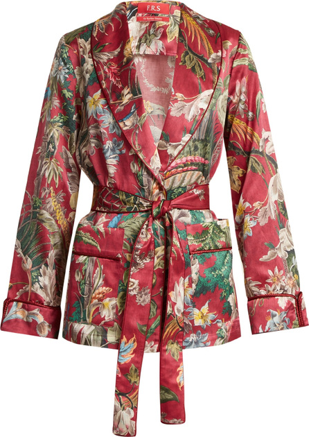 F.R.S For Restless Sleepers Armonia floral-print cotton-blend jacket