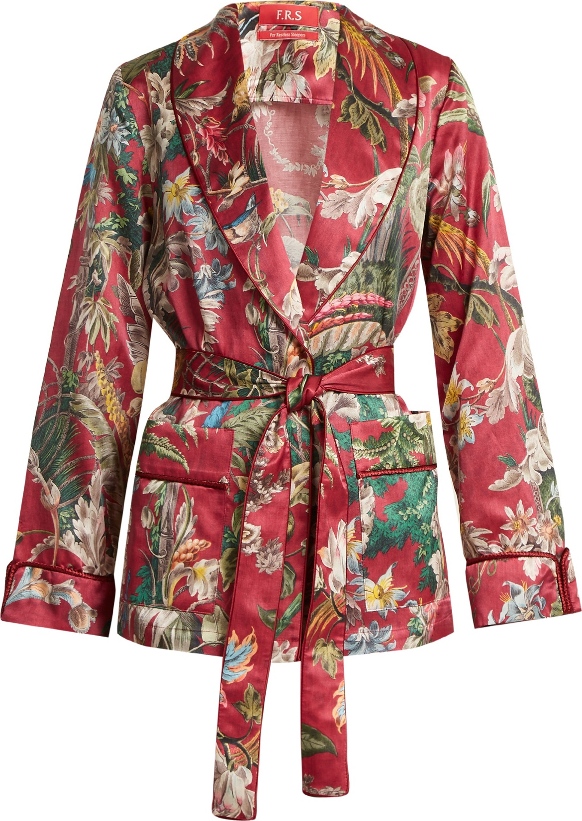 F.R.S For Restless Sleepers - Armonia floral-print cotton-blend jacket