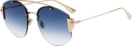 Dior DiorStronger Round Gradient Sunglasses
