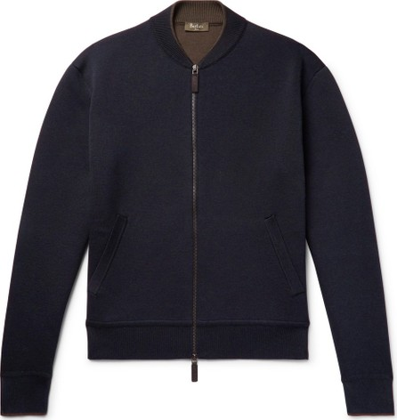 Berluti Silk and Cotton-Blend Zip-Up Cardigan