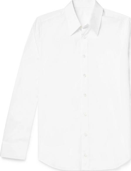 Helmut Lang Slim-Fit Printed Cotton-Poplin Shirt