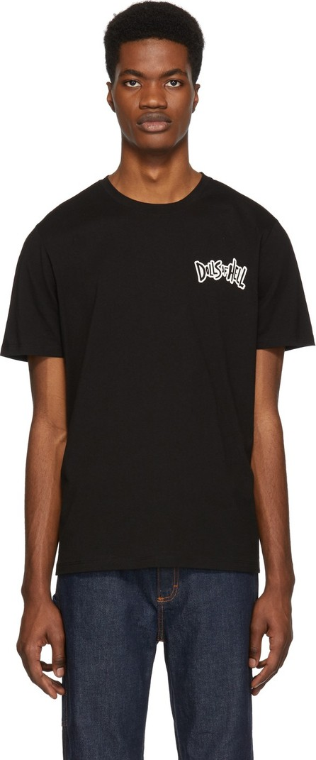 A.P.C. Black 'Dolls Of Hell' T-Shirt