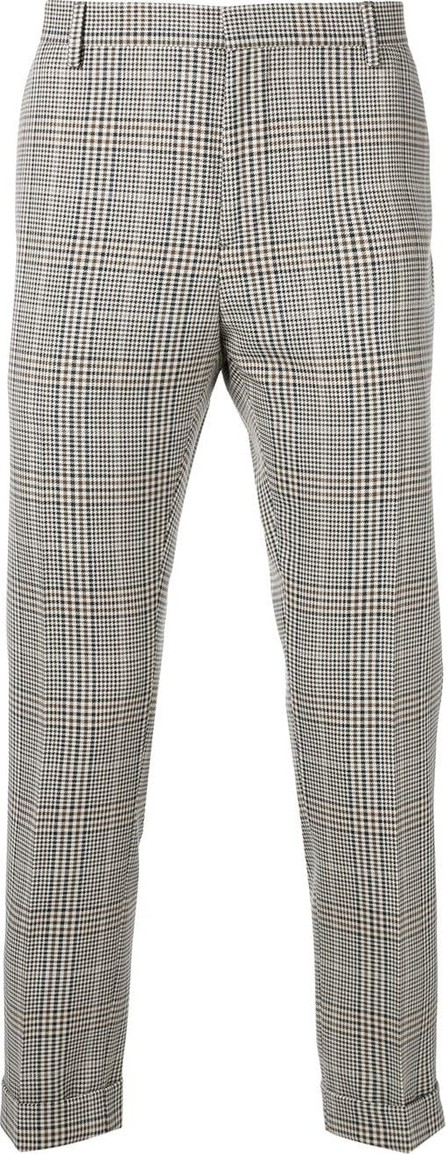 Calvin Klein Slim checked trousers