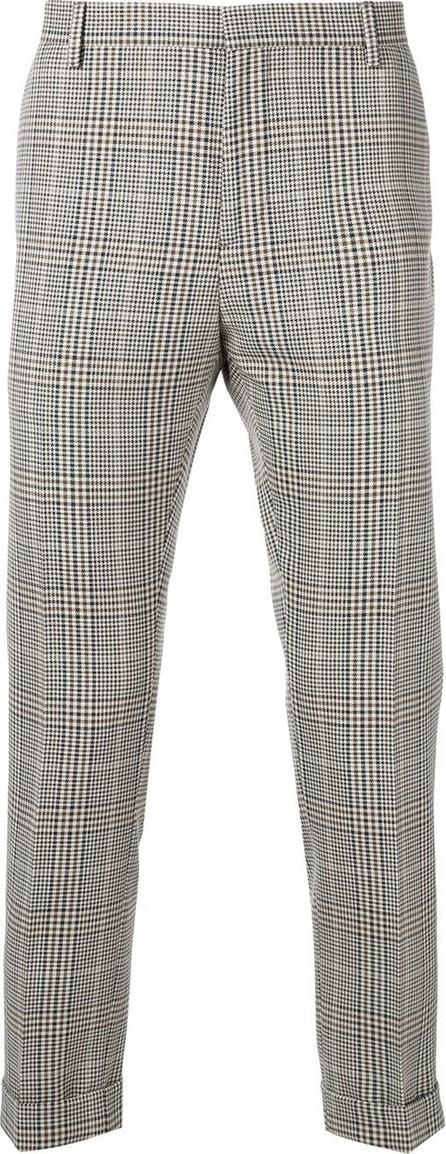 Calvin Klein Slim checked trousers