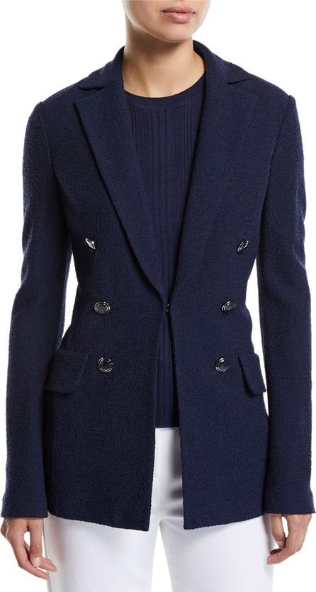St. John Ana Boucle Wool-Blend Jacket
