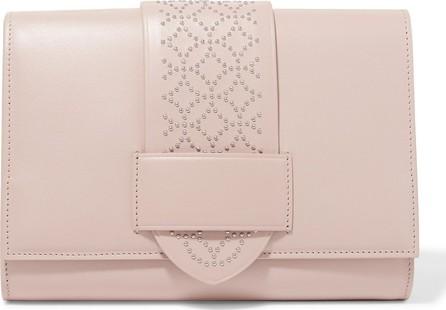 Alaïa Simone studded leather clutch